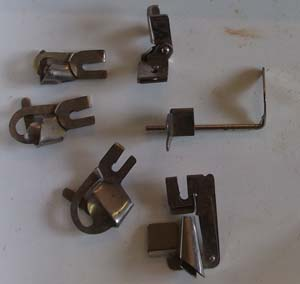 Greist copy sewing machine feet set with Low Shank attaching foot
